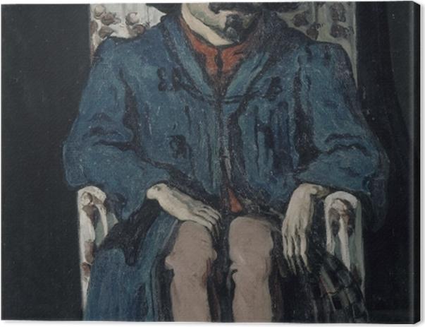 Obraz na płótnie Paul Cézanne - Portret Achille'a Emperaire'a - Reprodukcje