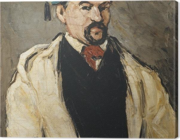 Obraz na płótnie Paul Cézanne - Portret mężczyzny w niebieskiej czapce - Reprodukcje