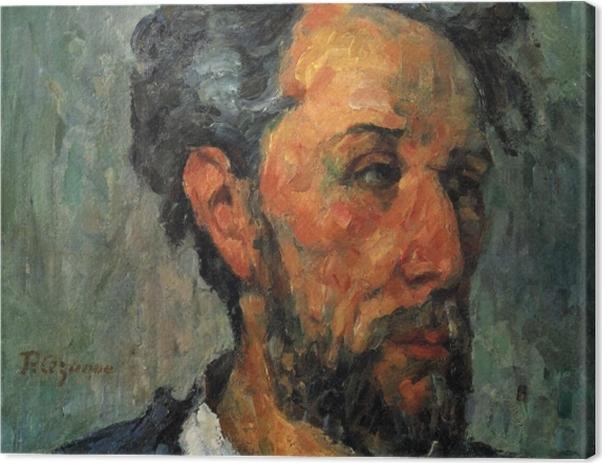 Obraz na płótnie Paul Cézanne - Portret Victora Chocquet - Reprodukcje