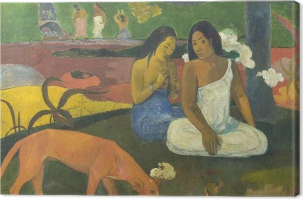 Obraz na płótnie Paul Gauguin - Arearea - Reprodukcje