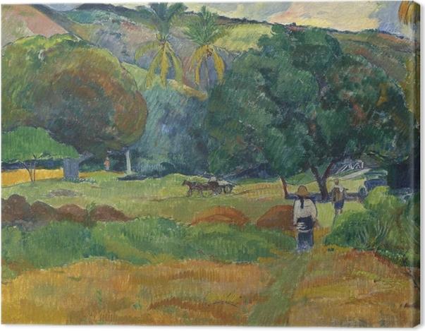 Obraz na płótnie Paul Gauguin - Dolina - Reprodukcje
