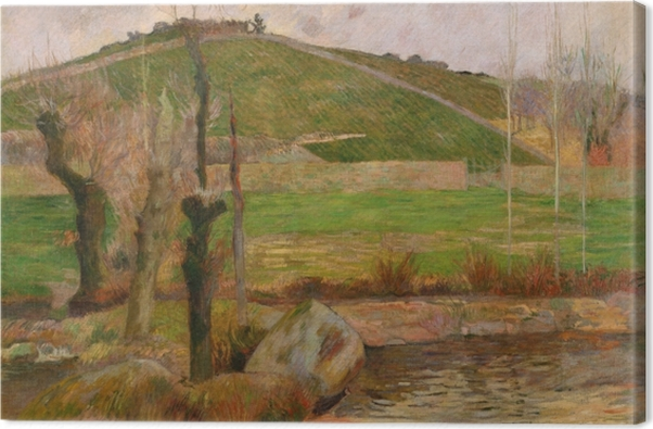 Obraz na płótnie Paul Gauguin - Krajobraz nieopodal Pont-Aven - Reprodukcje