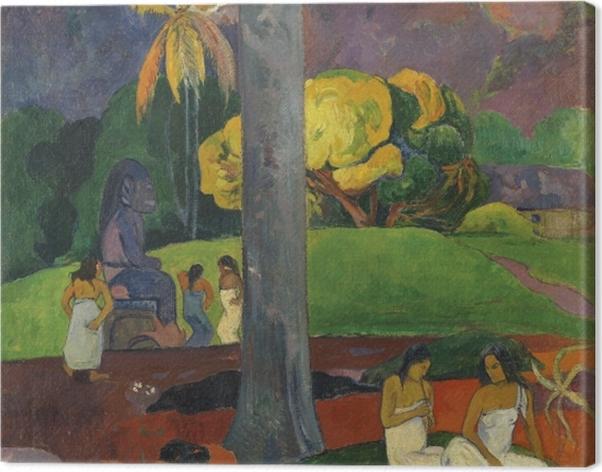 Obraz na płótnie Paul Gauguin - Mata mua (Dawne czasy) - Reprodukcje