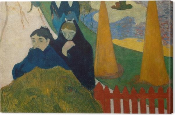 Obraz na płótnie Paul Gauguin - Mistral - Reprodukcje