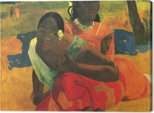 Obraz na płótnie Paul Gauguin - Na Fe Faaipoipo (Kiedy mnie poślubisz?) - Reprodukcje