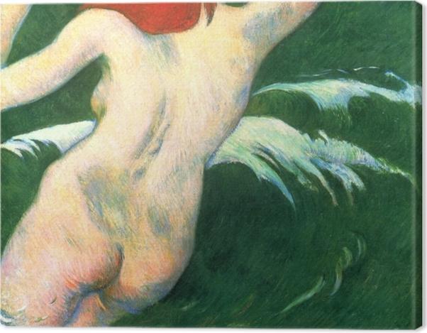 Obraz na płótnie Paul Gauguin - Ondine - Reprodukcje