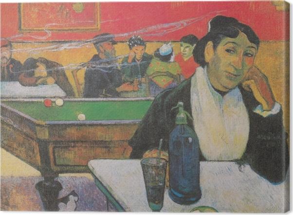 Obraz na płótnie Paul Gauguin - Pani Ginoux - Reprodukcje