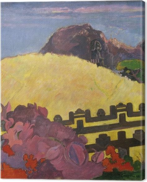 Obraz na płótnie Paul Gauguin - Parahi te marae ( - Reprodukcje