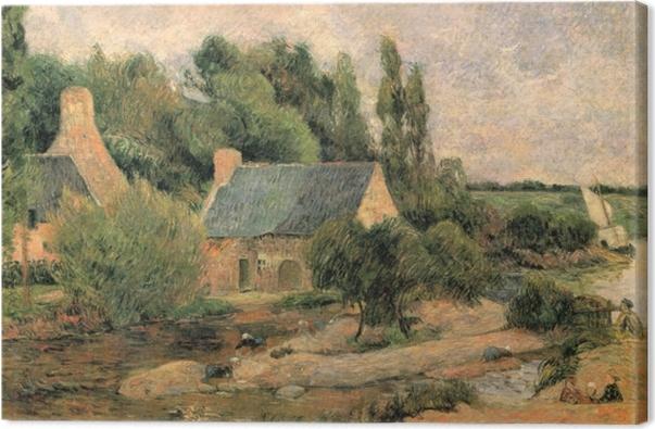 Obraz na płótnie Paul Gauguin - Praczki w Pont-Aven - Reprodukcje