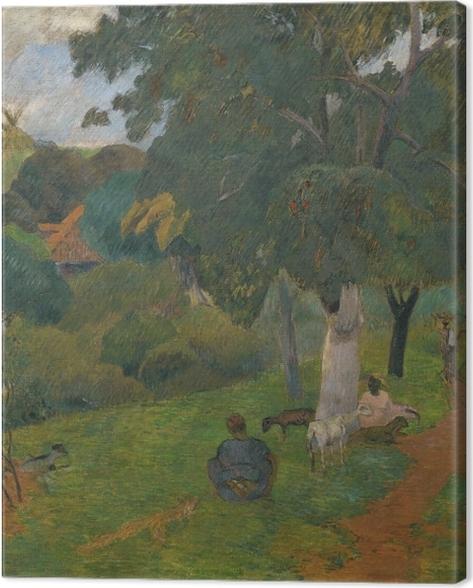 Obraz na płótnie Paul Gauguin - Przychodząc i odchodząc. Martynika - Reprodukcje