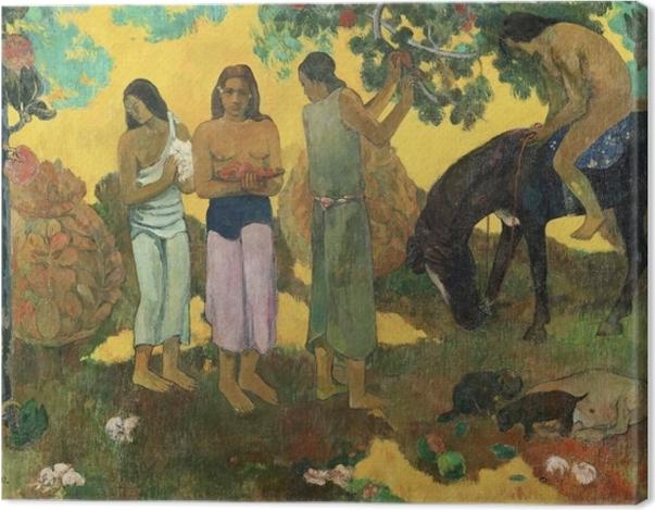 Obraz na płótnie Paul Gauguin - Rupe rupe (Zbiór owoców) - Reprodukcje