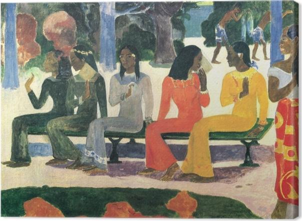Obraz na płótnie Paul Gauguin - Ta Matete (Targ) - Reprodukcje