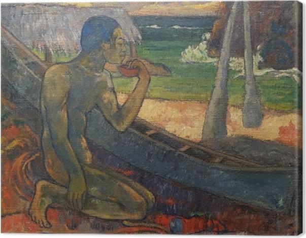Obraz na płótnie Paul Gauguin - Ubogi rybak - Reprodukcje