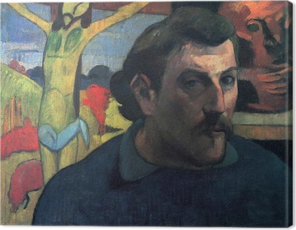 Obraz na płótnie Paul Gauguin - Żółty Chrystus - Reprodukcje