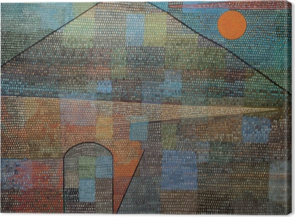 Obraz na płótnie Paul Klee - Ad Parnassum - Reprodukcje