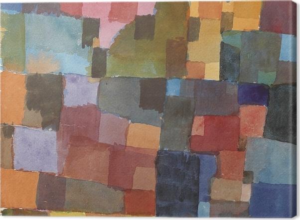 Obraz na płótnie Paul Klee - Kosmiczna architektura - Reprodukcje