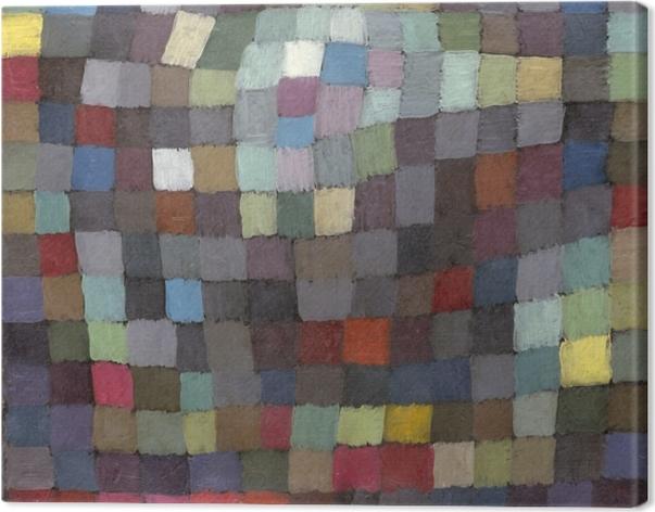 Obraz na płótnie Paul Klee - Majowy obraz - Reprodukcje
