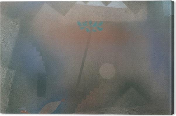 Obraz na płótnie Paul Klee - Odchodzący ptak - Reprodukcje