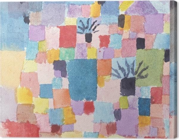 Obraz na płótnie Paul Klee - Południowe (tunazyjskie) ogrody - Reprodukcje