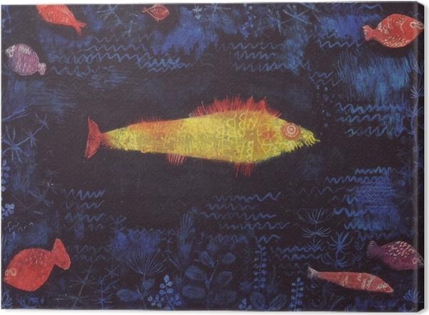 Obraz na płótnie Paul Klee - Złota rybka - Reprodukcje