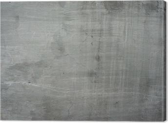 Obraz na płótnie Pęknięty stary szary mur beton cementowy rocznika brudne