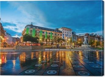 Obraz na płótnie Piccadilly square manchester