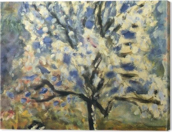Obraz na płótnie Pierre Bonnard - Kwitnące drzewko migdałowe - Reproductions