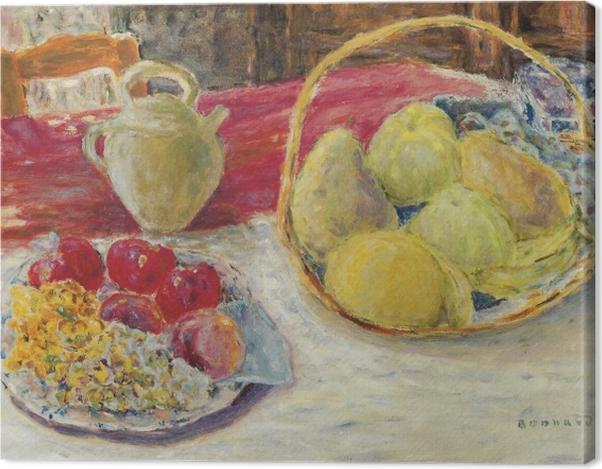 Obraz na płótnie Pierre Bonnard - Martwa natura z owocami w słońcu - Reproductions