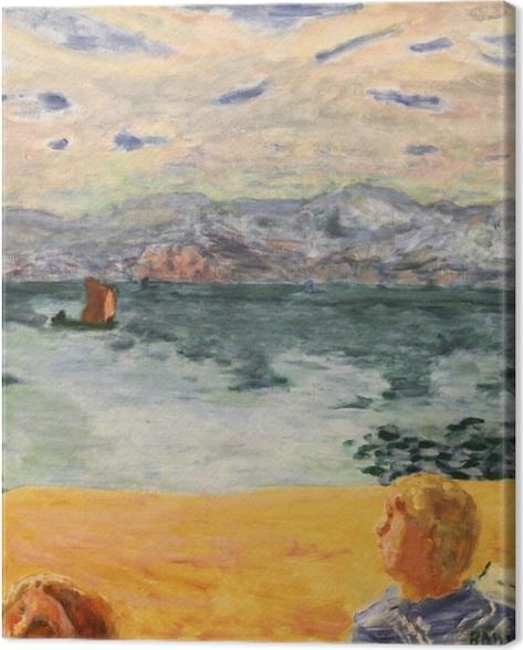 Obraz na płótnie Pierre Bonnard - Paryż. L'Esterel - Reproductions