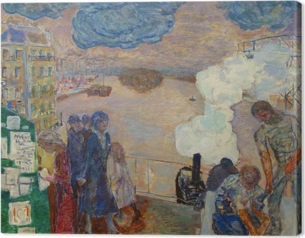 Obraz na płótnie Pierre Bonnard - Robotnicy - Reproductions