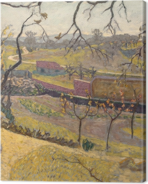 Obraz na płótnie Pierre Bonnard - Wczesna wiosna. Fauniątka. - Reproductions