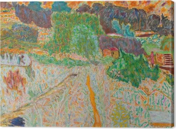Obraz na płótnie Pierre Bonnard - Widok z pracowni artysty - Reproductions