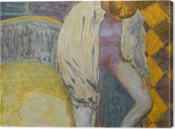 Obraz na płótnie Pierre Bonnard - Wychodząca z wanny - Reproductions