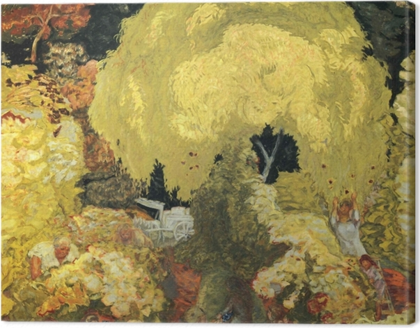 Obraz na płótnie Pierre Bonnard - Zbieracze owoców - Reproductions