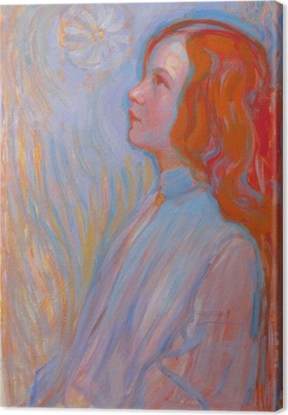 Obraz na płótnie Piet Mondrian - Poświęcenie - Reprodukcje