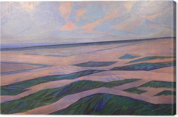 Obraz na płótnie Piet Mondrian - Wydma - Reprodukcje