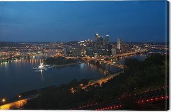 Obraz na płótnie Pittsburgh, Pensylwania, USA