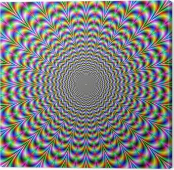 Obraz na płótnie Psychedelic Web