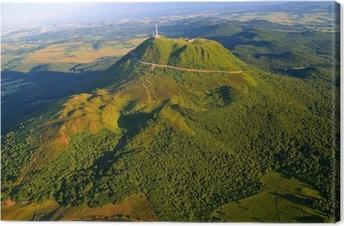 Obraz na płótnie Puy de Dome i Park Wulkanów Owernii