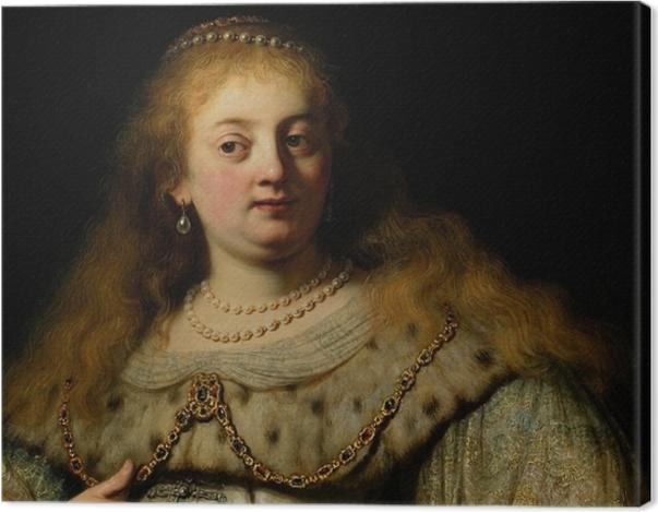Obraz na płótnie Rembrandt - Artemizja - Reprodukcje