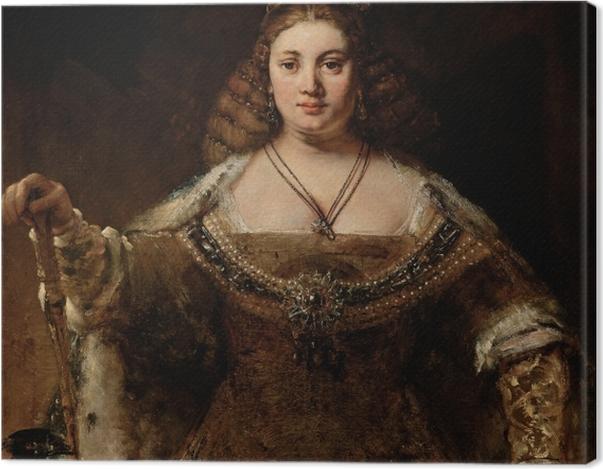 Obraz na płótnie Rembrandt - Junona - Reprodukcje