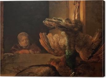 Obraz na płótnie Rembrandt - Martwe pawie