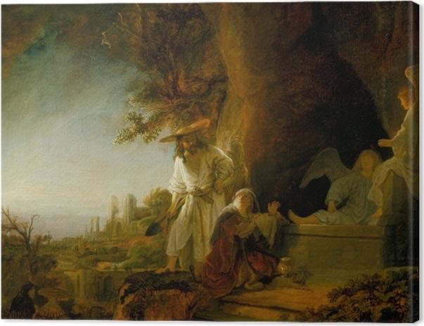 Obraz na płótnie Rembrandt - Noli me tangere - Reprodukcje