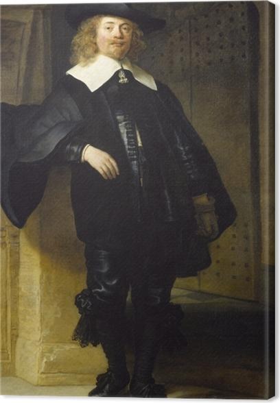 Obraz na płótnie Rembrandt - Portret Andriesa de Graeff - Reprodukcje