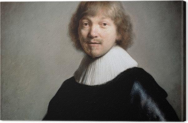 Obraz na płótnie Rembrandt - Portret Jacquesa III de Gheyn - Reprodukcje