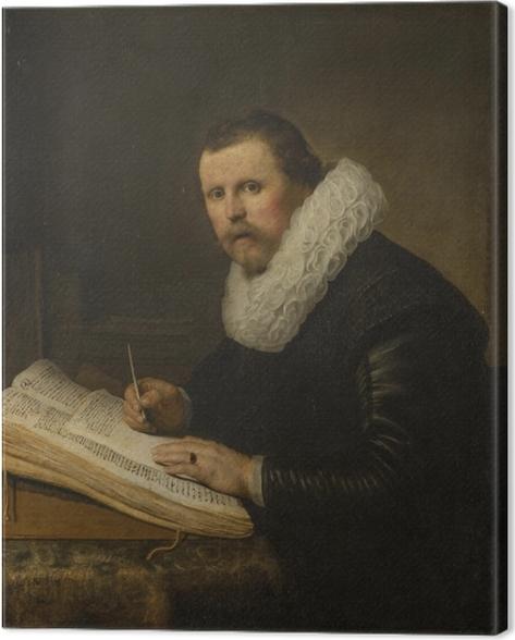 Obraz na płótnie Rembrandt - Portret uczonego - Reprodukcje