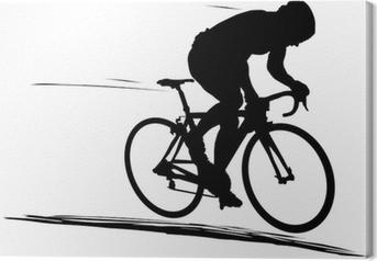 Obraz na płótnie Rower szosowy