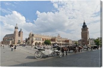 Obraz na płótnie Rynek Starego Miasta w Krakowie, Polska