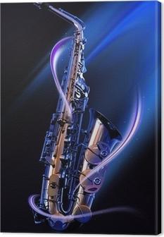 Obraz na płótnie Saksofon