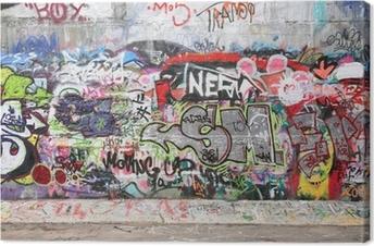 Obraz na płótnie Ściany graffiti